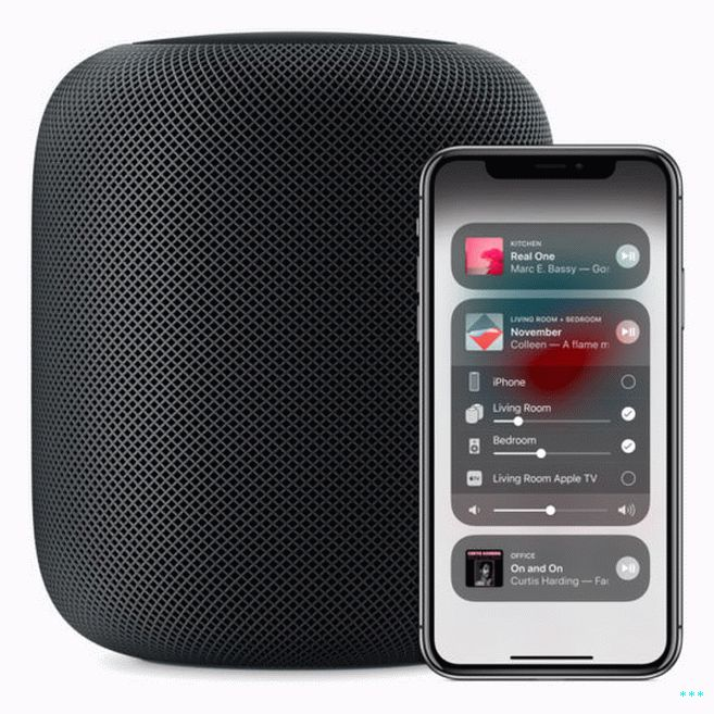 AirPlay 2 lets you play music, podcasts, and other audio throughout your entire home using multiple speakers.