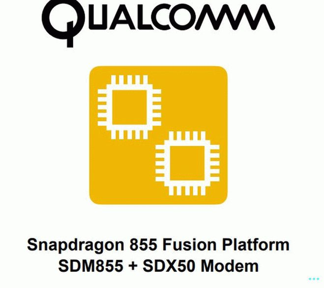 Qualcomm Snapdragon 855 Fusion платформа